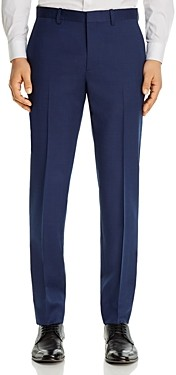 Theory Mayer Micro-Birdseye Slim Fit Suit Pants