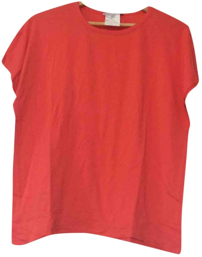 Paul & Joe Sister Red Cotton Top for Women