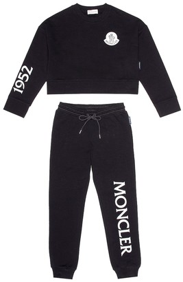 Moncler Enfant Stretch cotton tracksuit
