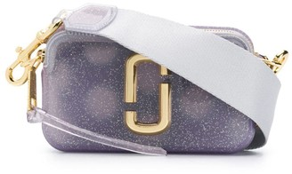 Marc Jacobs small Jelly Glitter Snapshot camera bag
