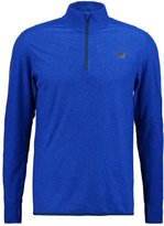 New Balance Space Long Sleeved Top Marine Blue Heather