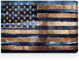 Oliver Gal Rocky Navy Freedom Wall Art, 15 x 10