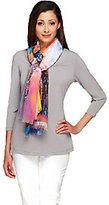 Collection XIIX Collection 18 Eiffel Tower Digitally Printed Scarf