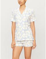 Derek Rose Ledbury cotton pyjama set