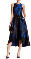 Shoshanna Coraline Hi-Lo Floral Dress