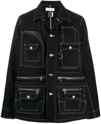 Facetasm multi-pocket shirt jacket