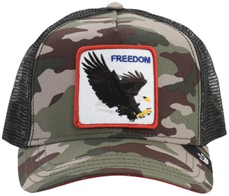Goorin Bros. Freedom Camo Trucker Hat W/ Patch