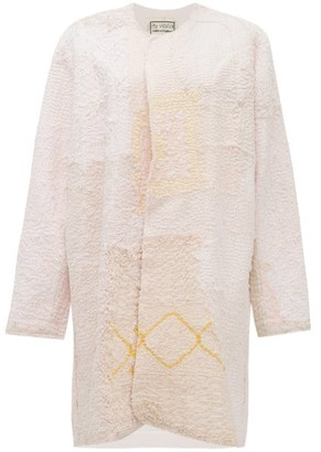 By Walid Miro 19th Century Cotton Crochet Coat - Ivory Multi