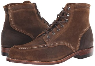 Wolverine Heritage 1000 Mile 6 1940 Boot (Dark Tan Suede) Men's Dress Lace-up Boots
