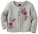 Tea Collection Wago Embroidered Cardigan (Baby & Toddler Girls)