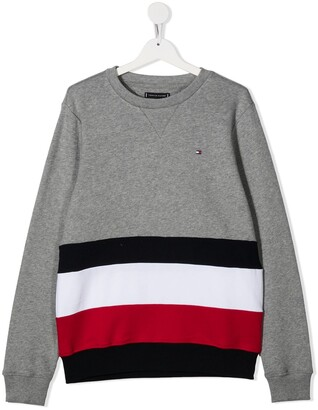 Tommy Hilfiger Junior Embroidered Logo Jumper