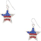 Carole Red & Blue Star Earring