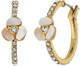 Kate Spade Special Occasion Pave Hoops Earring