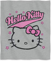 "Hello Kitty Sanrio 50"" x 60"" Sweatshirt Throw Bedding"