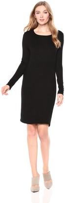 Three Dots Women's CI5859 Luxe Rib Dress