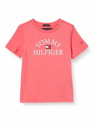 Tommy Hilfiger Boy's Essential Logo TEE S/S T-Shirt