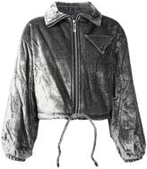 Opening Ceremony quilted bomber jacket - women - Cotton/Viscose/Polyester/Cupro - 4