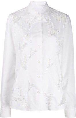 Viktor & Rolf Heart To Heart embroidered shirt
