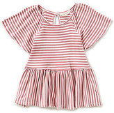 Copper Key Little Girls 4-6X Striped Peplum Top