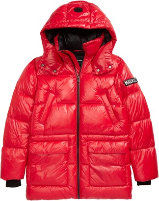 Mackage Kennie Down Hooded Puffer Coat