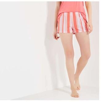 Joe Fresh Women's Jersey Sleep Shorts, Coral (Size S)