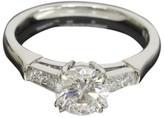 Harry Winston Diamond Platinun Ring
