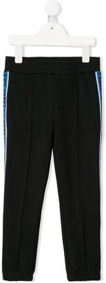 Stella McCartney logo-stripe track trousers