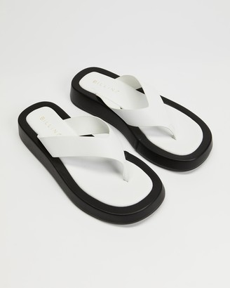 Billini - Women's White All thongs - Yogi - Size 7 at The Iconic