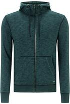 Hugo Boss Boss Orange Ztarta Hooded Zip Jacket, Dark Green