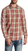 Threads 4 Thought Long Sleeve Regular Fit Plaid Snap Shirt