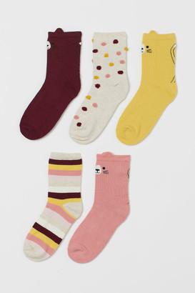 H&M 5-Pack Socks