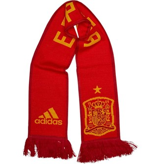 adidas FEF Spain Home Scarf Red/Power Red/Bold Gold