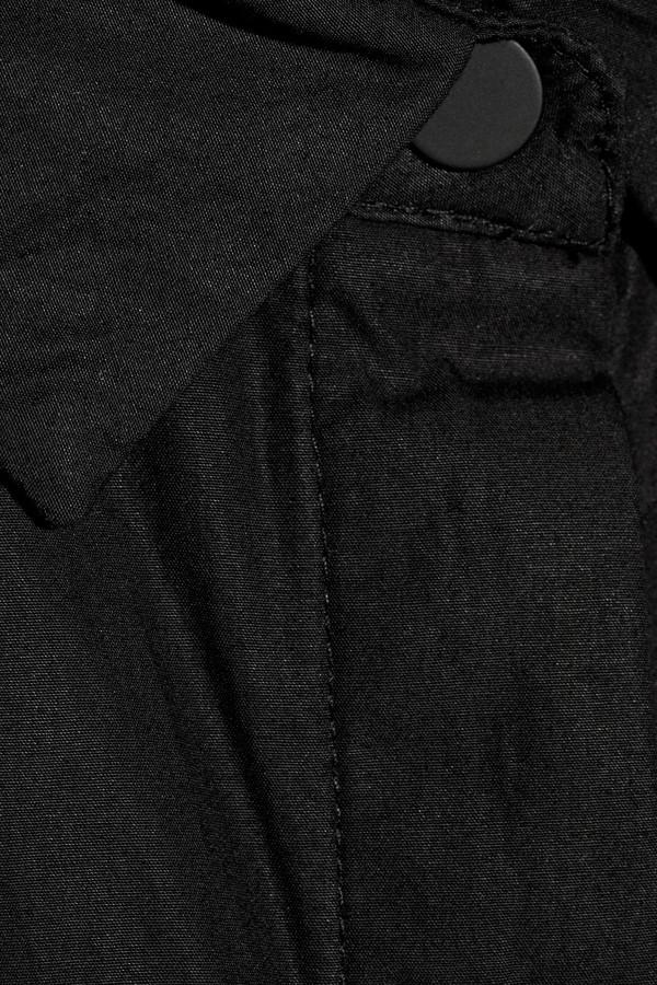 Alexander Wang Cotton piqué-trimmed cotton-poplin shirt