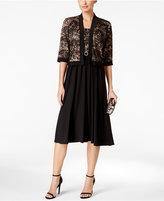 R & M Richards Lace A-Line Dress and Jacket