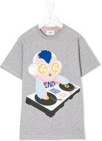 Fendi DJ Set print T-shirt