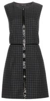 Marc Jacobs Plaid wool minidress