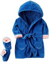 Carter's Robe & Bootie Set (Baby) - Shark - One Size