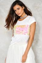 Nasty Gal Sequin Me Out Tee