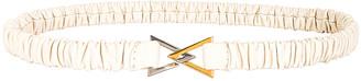 Bottega Veneta Belt in Plaster & Gold & Silver | FWRD