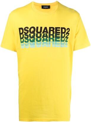 DSQUARED2 multiple logo print T-shirt