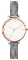 Skagen Women's Hagen Mesh Strap Watch, 34Mm