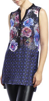 Robert Graham Hannah Floral Silk Tunic