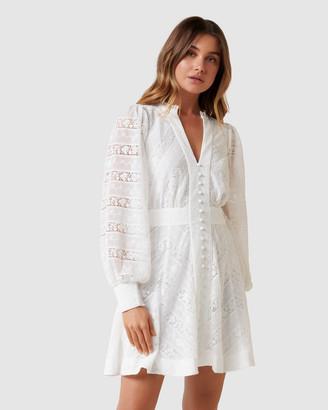 Forever New Santina Lace Skater Dress