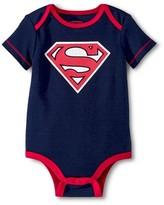Superman Newborn Boys' Bodysuit - Navy 0-3 M