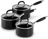 Marks and Spencer 3 Piece Aluminium Non-Stick Saucepan Set