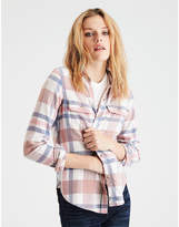 American Eagle AE Ahhmazingly Soft Plaid Cabin Shirt