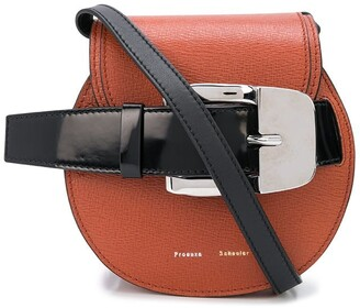 Proenza Schouler Buckle Detail Mini Cross Body Bag