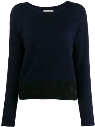 Suzusan Long-Sleeve Fitted Sweater