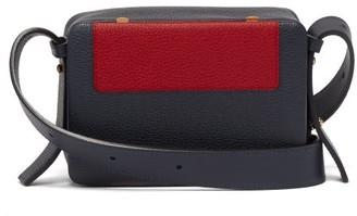 Lutz Morris Maya Intarsia Square Front Crossbody Bag - Red Navy