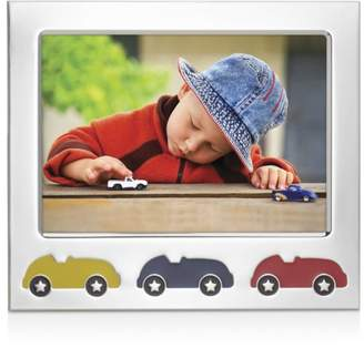 "Reed & Barton Racecar Silverplate Frame, 5"" x 7"""